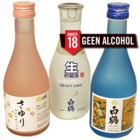 Hakutsuru Sake 3 fles