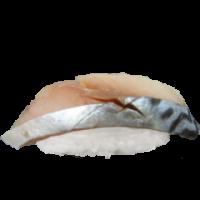 Makreel nigiri 1 stuks *