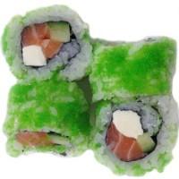 Wasabi cheese uramaki halve rol (4 st.)